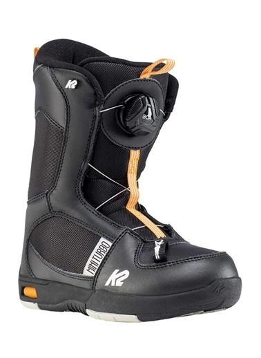 Mytell  Mini Turbo Snowboard Botu Siyah